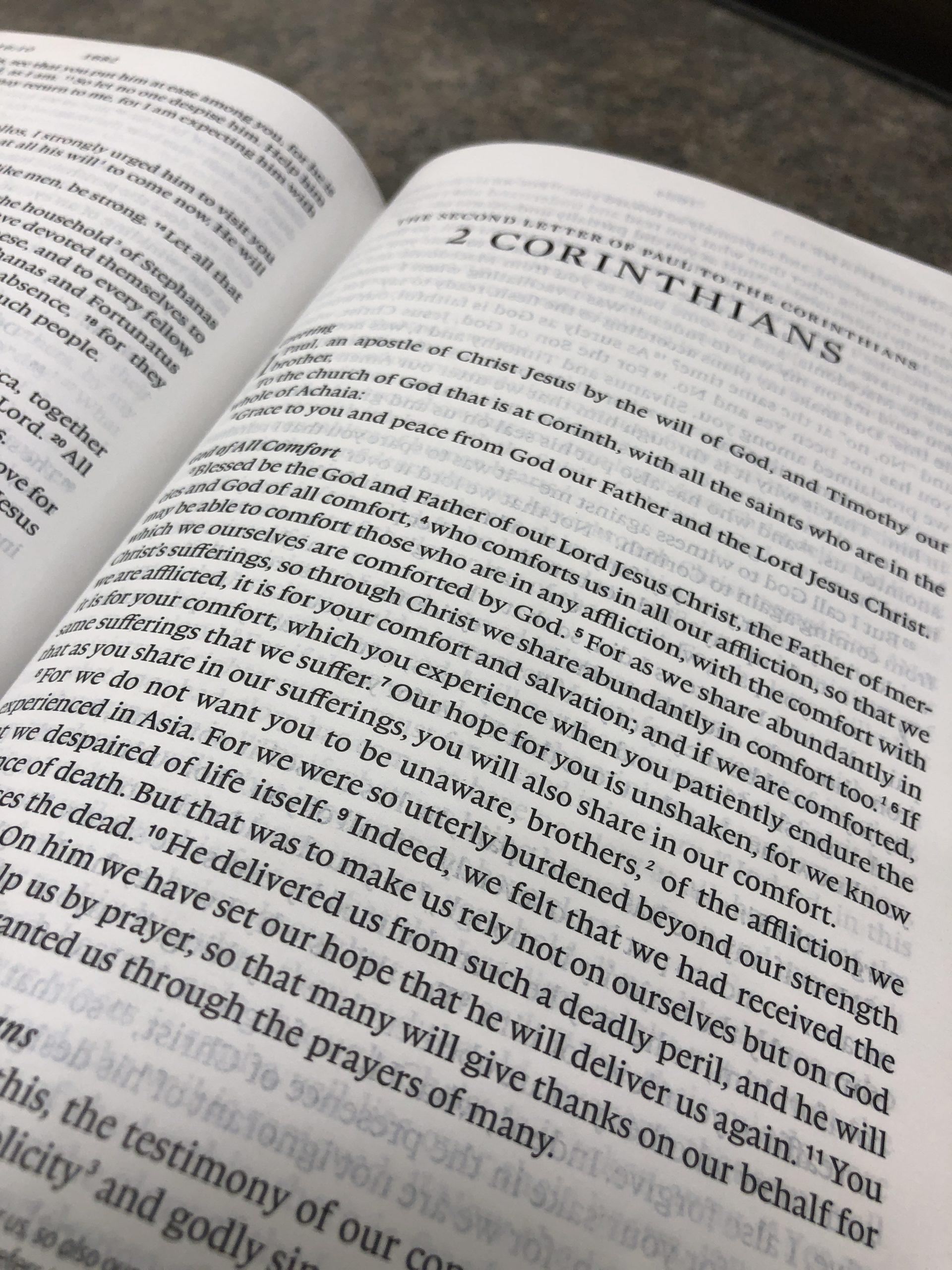 An Overview of 2 Corinthians