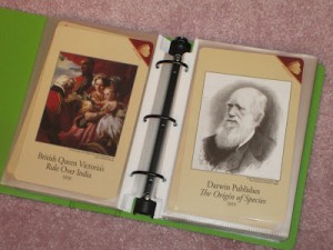 History Card Binders and Sleeves
