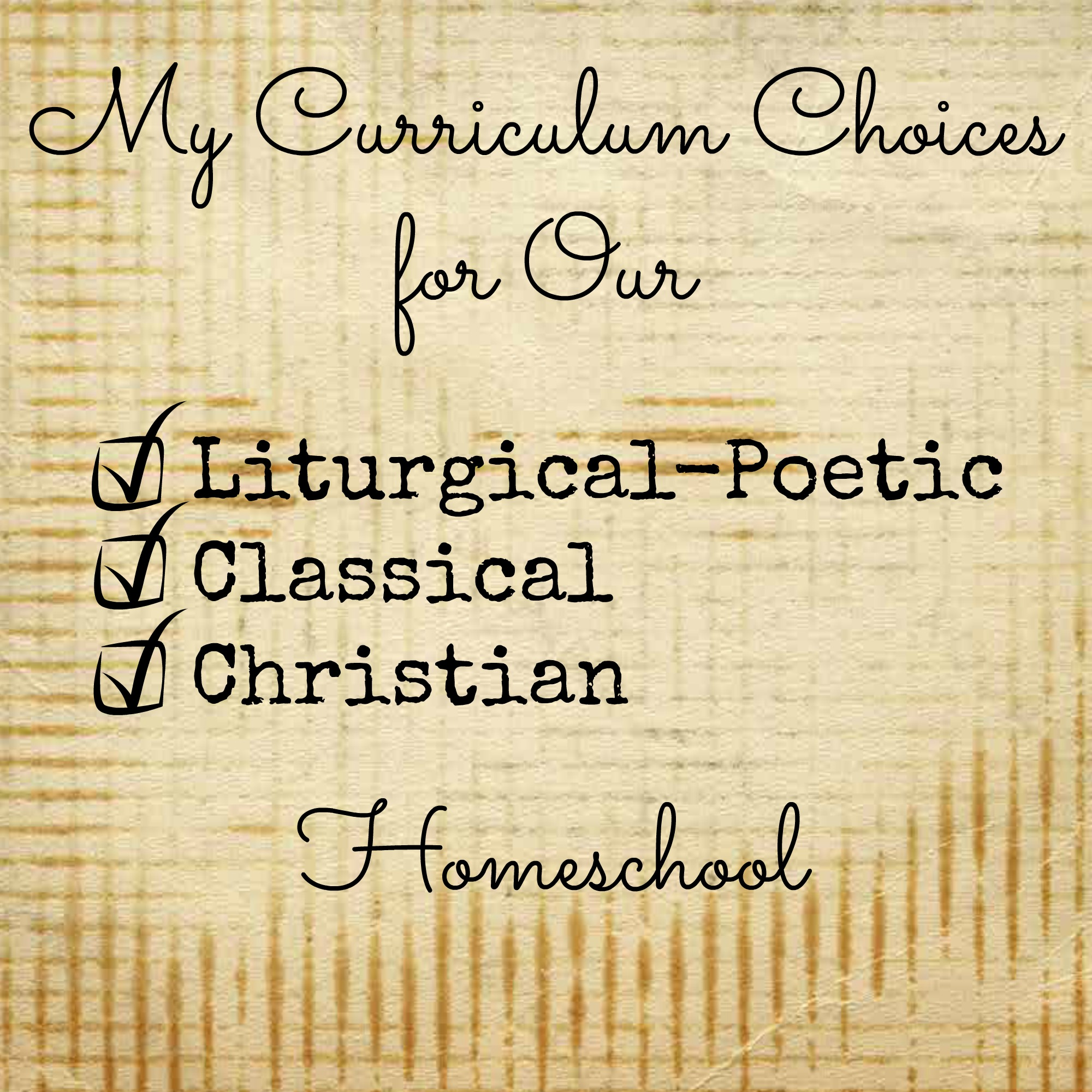 Homeschool Curriculum Choices for 5th and 7th Grades