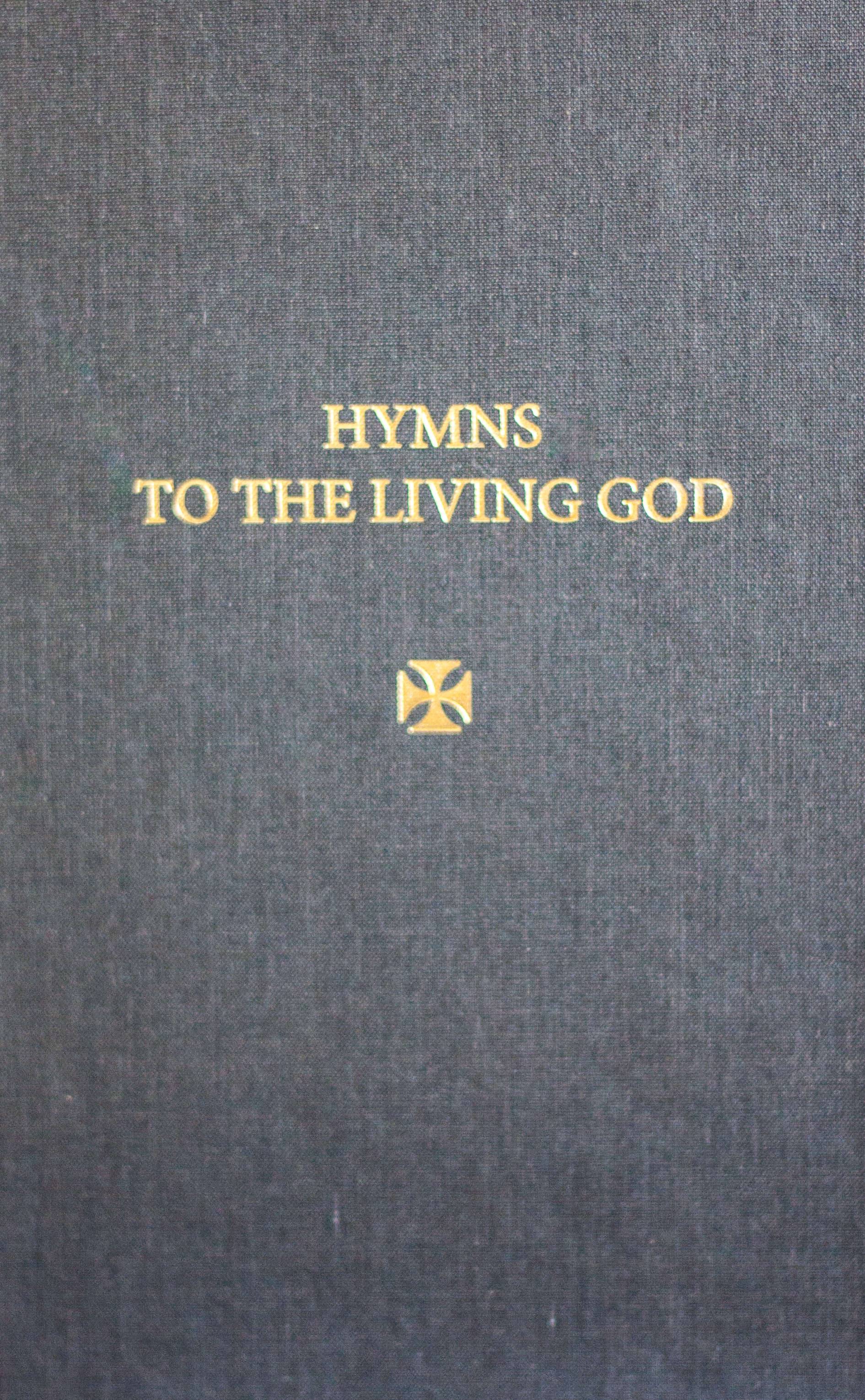 Last chance to order Hymns to the Living God with KJV Scripture Readings