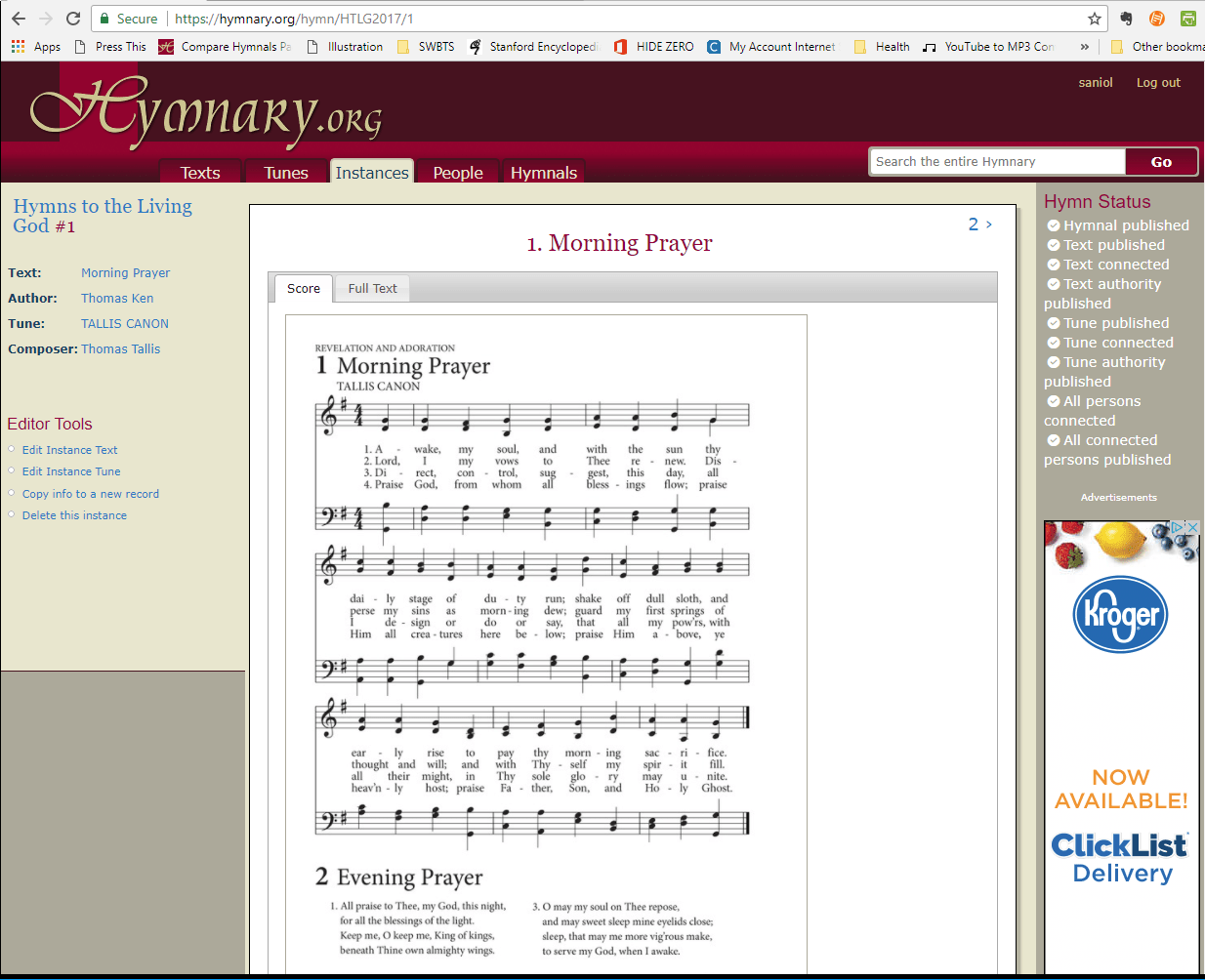 Images of each page of Hymns to the Living God are now available on Hymnary.org