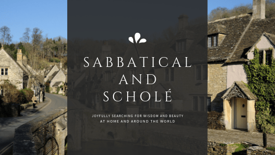 Why Sabbatical and Scholé?