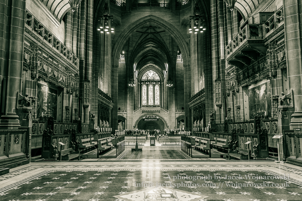 Liverpool Cathedral nave A