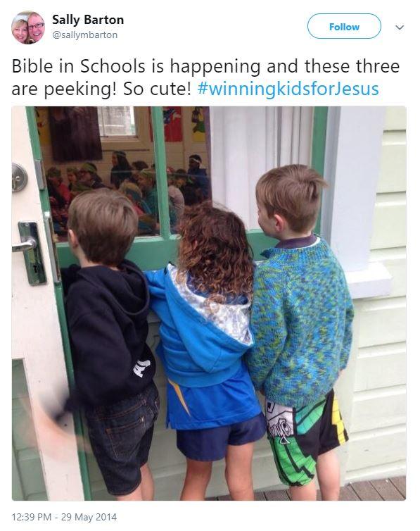 Sally Barton winning kids for Jesus
