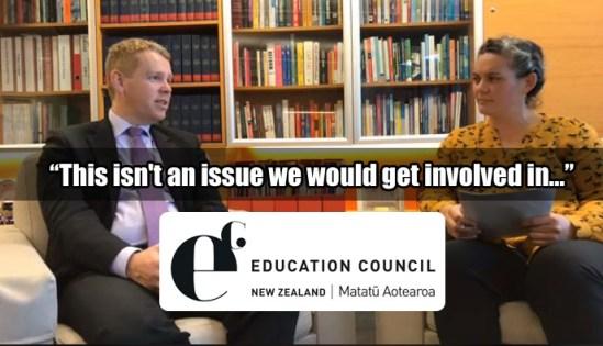 Chris Hipkins on inclusiveness & bullying