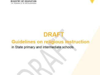 2018 draft guidelines religious instruction