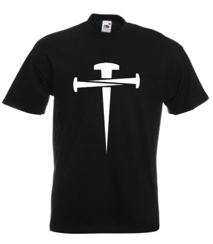 Cross Of Nails Black T-shirt