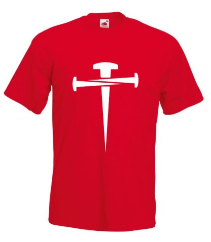 Cross Of Nails Red T-shirt