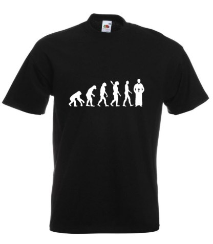 Priest Evolution TShirt Black