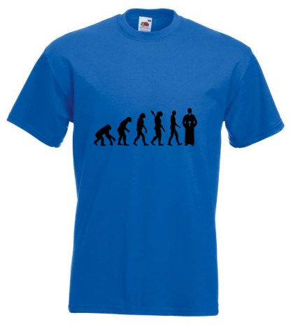 Priest Evolution TShirt Blue