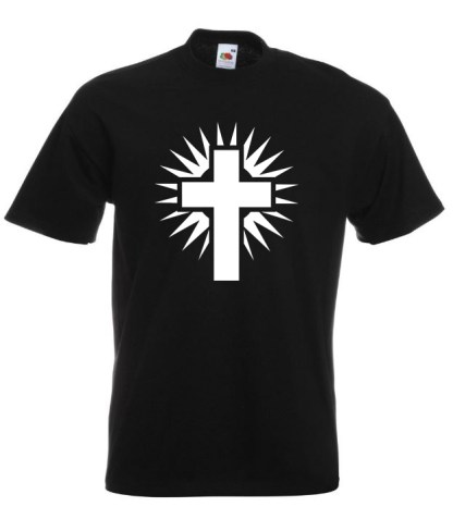 Shining Cross Black TShirt