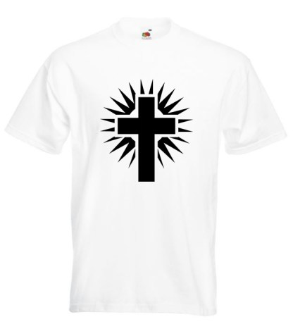 Shining Cross White TShirt