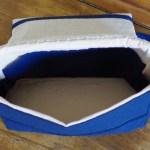 Intérieur du mini-sac à langer