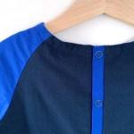 Détails des tissus d'une blouse