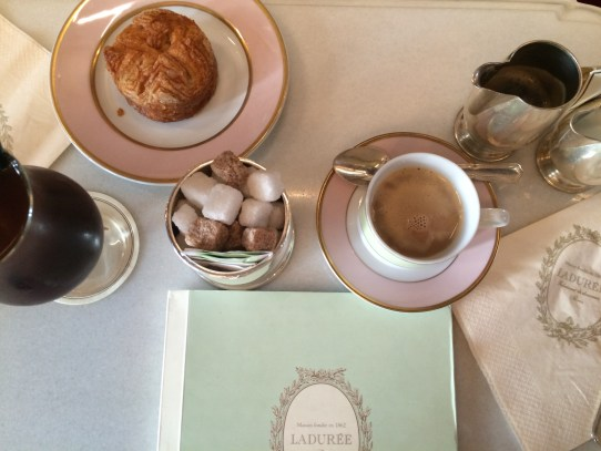 Coffee at Laduree