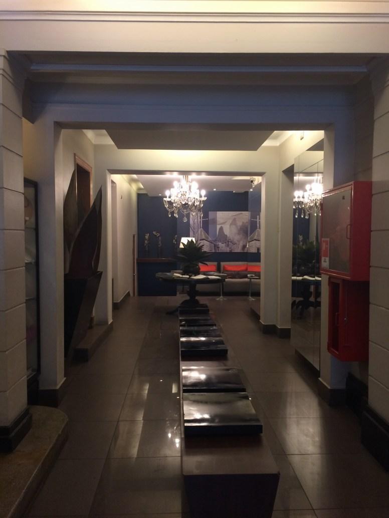 The lobby at Lastarria