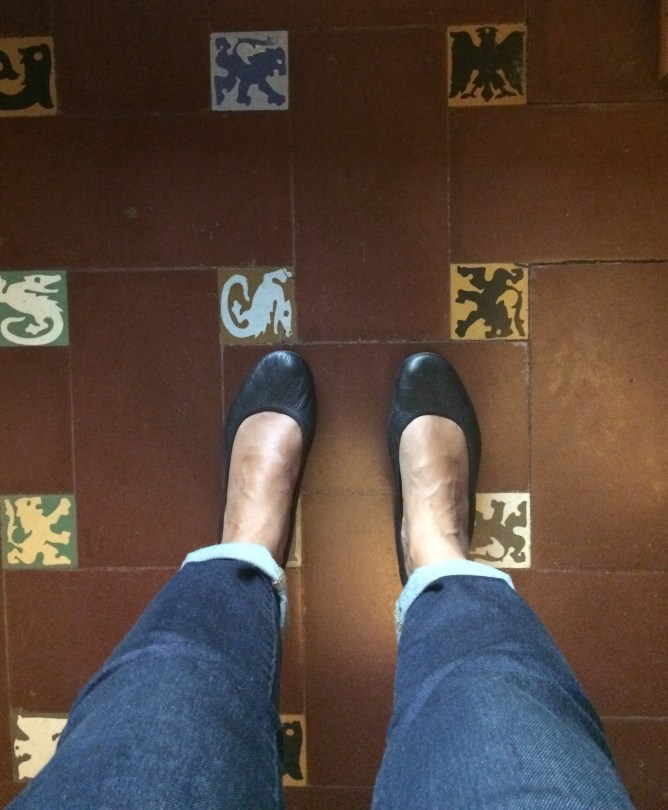 Love the tile floors!