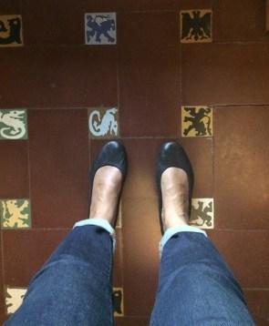 Love the tile floors!