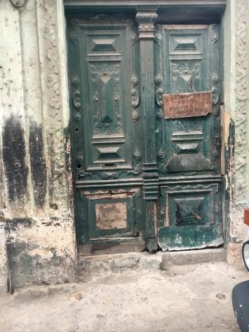 A Beautiful Decayed Door