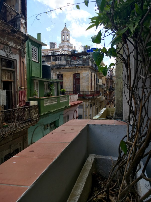 Overlooking Old Havana