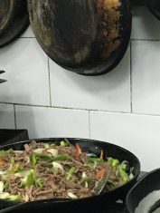 The making of ropa vieja!