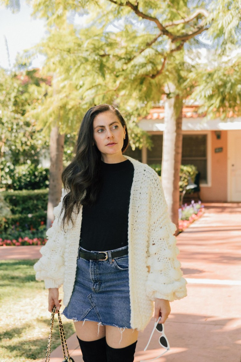 Los Angeles style blogger, RELish By Arielle shares mom and baby outfit details
