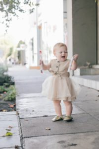 LA blogger, RELish's daughter, Naiya, wears a PatPat tutu