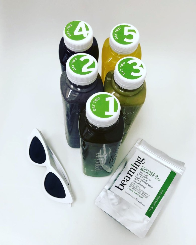Los Angeles blogger, RELish By Arielle tries the Live Beaming juice cleanse for three days and loves it
