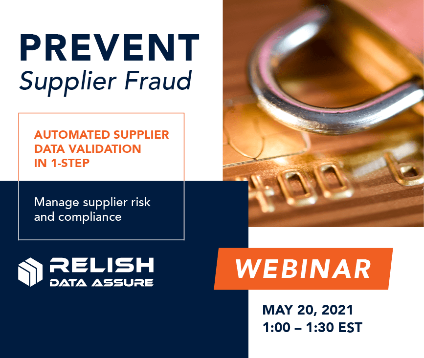 Prevent Supplier Fraud: Automated Supplier Data Validation In 1-step