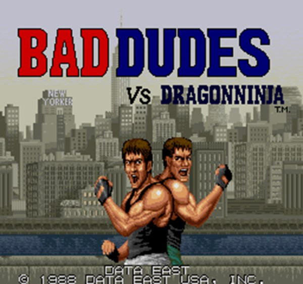 Bad Dudes Dragon Ninja intro