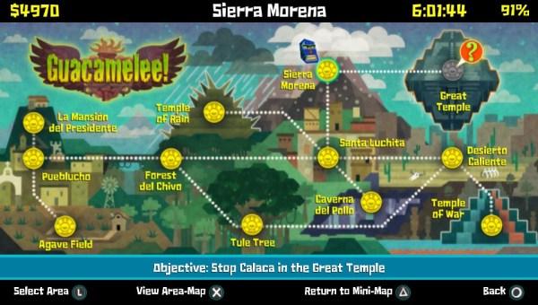 Mapa general del juego