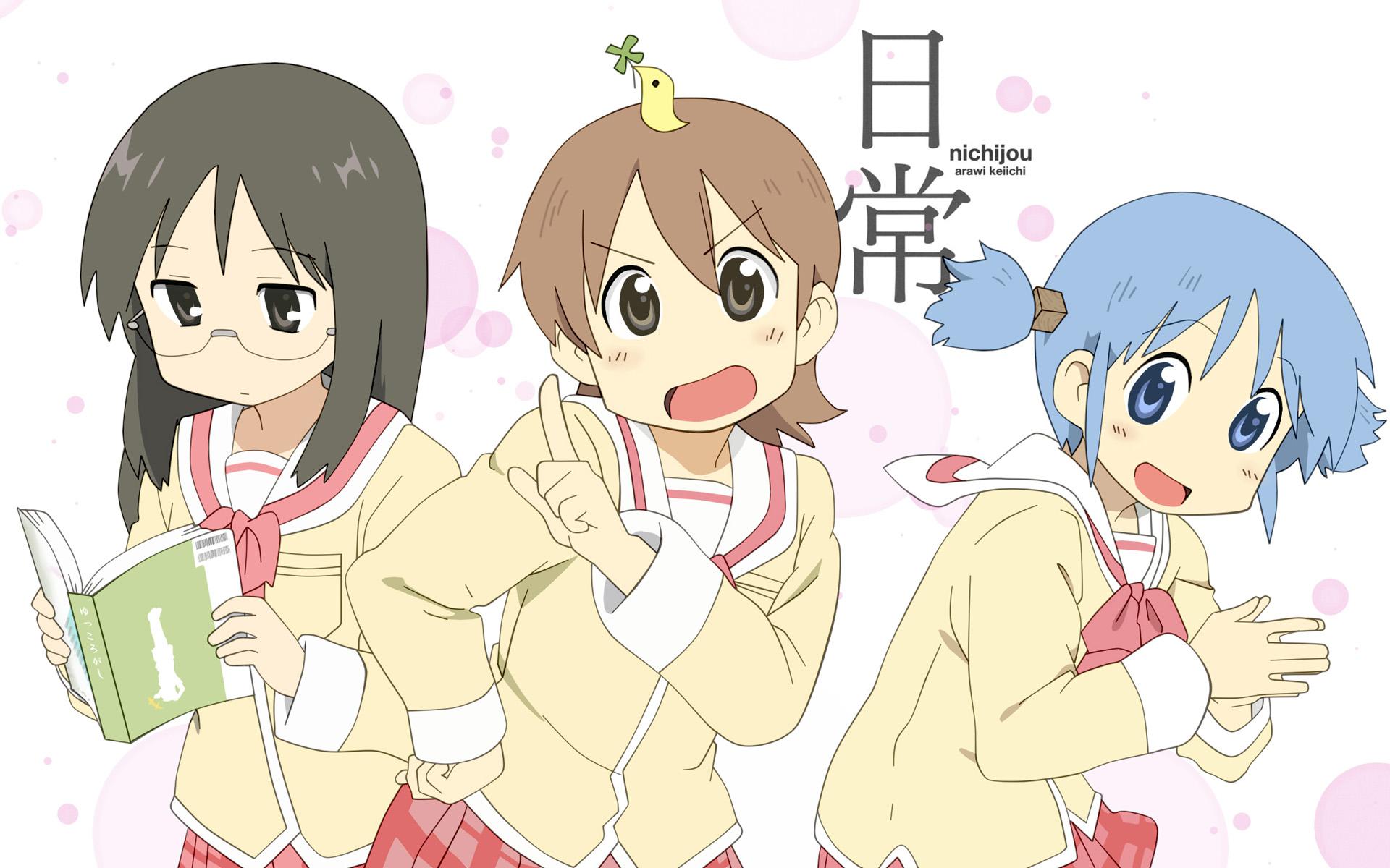 Anime recomendado: Nichijou