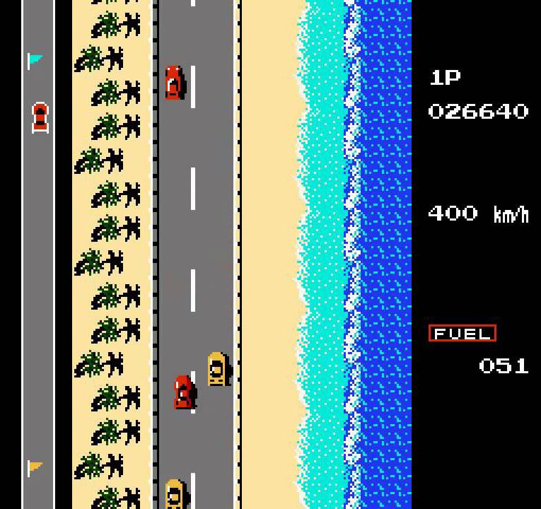 road fighter - tramo 3