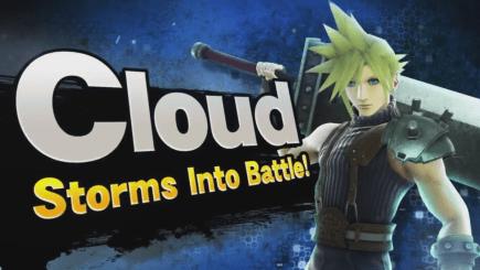 super smash bros - cloud strife