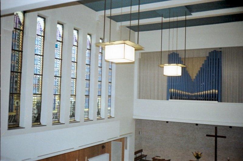 Interieur kerk Parkstraat