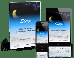 e-Booklet 9 ways to improve your sleep