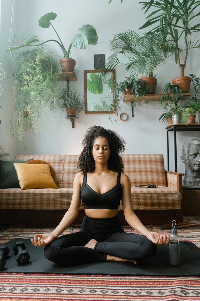 meditate and relax