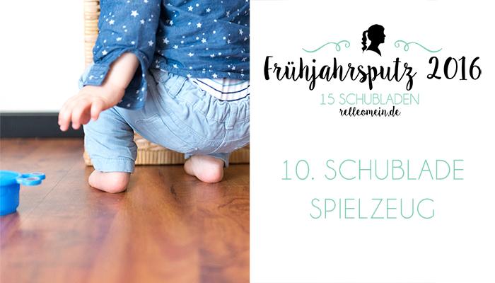 Spielzeugkiste für ein aufgeräumtes Wohnzimmer - Frühjahrsputz 2016 | relleomein.de