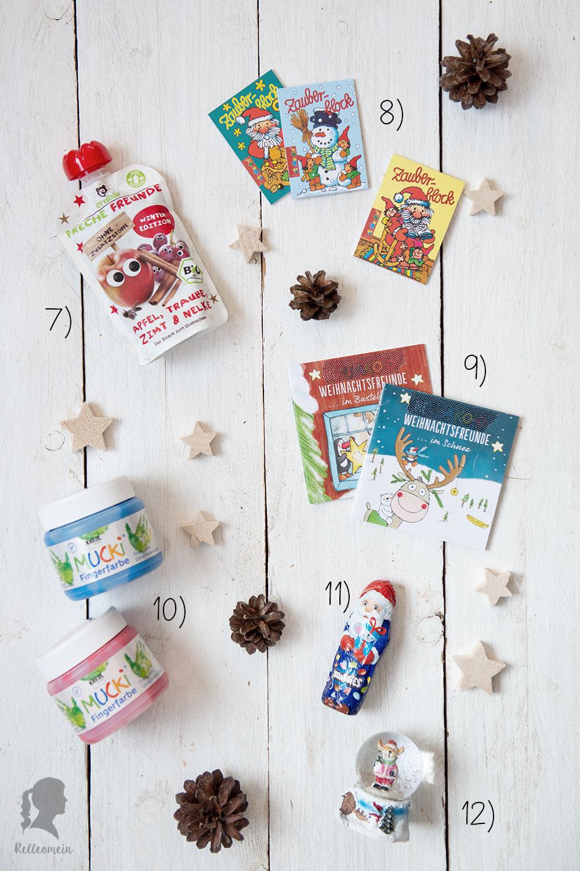 Adventskalender für Kinder - 24 kleine Geschenke für den Adventskalender | relleomein.de #adventskalender #weihnachten
