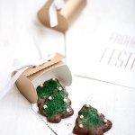Schokoladenkekse Weihnachtsbäume ohne Milch ohne Butter | relleomein.de #weihnachtsplätchen #weihnachten