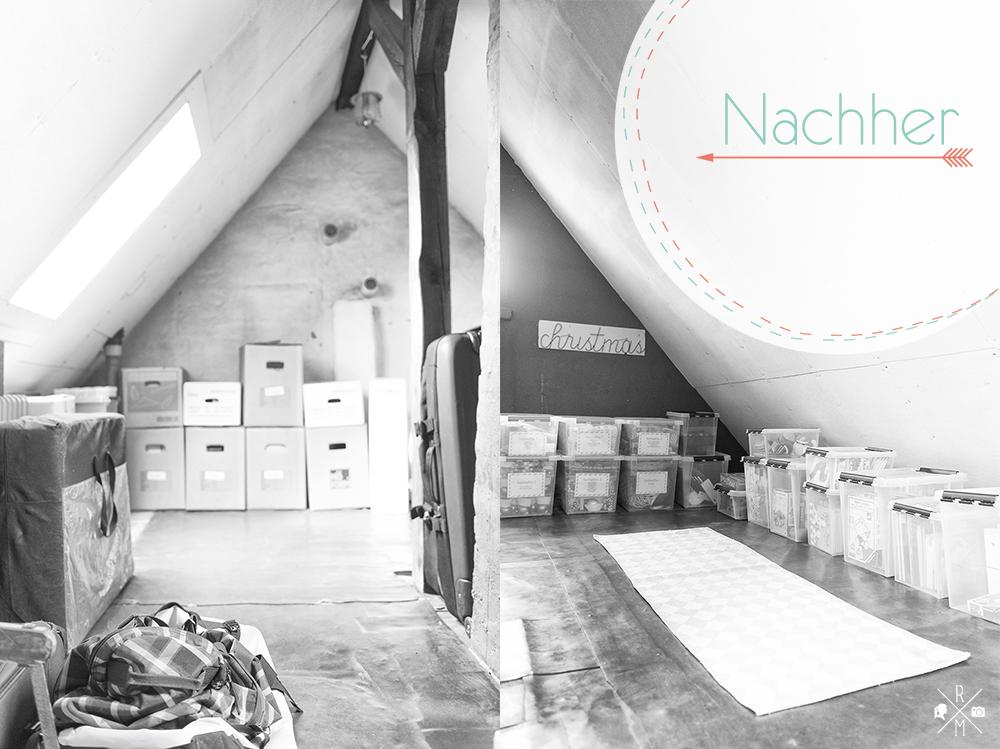 Dachboden aufräumen und organisieren | relleomein.de