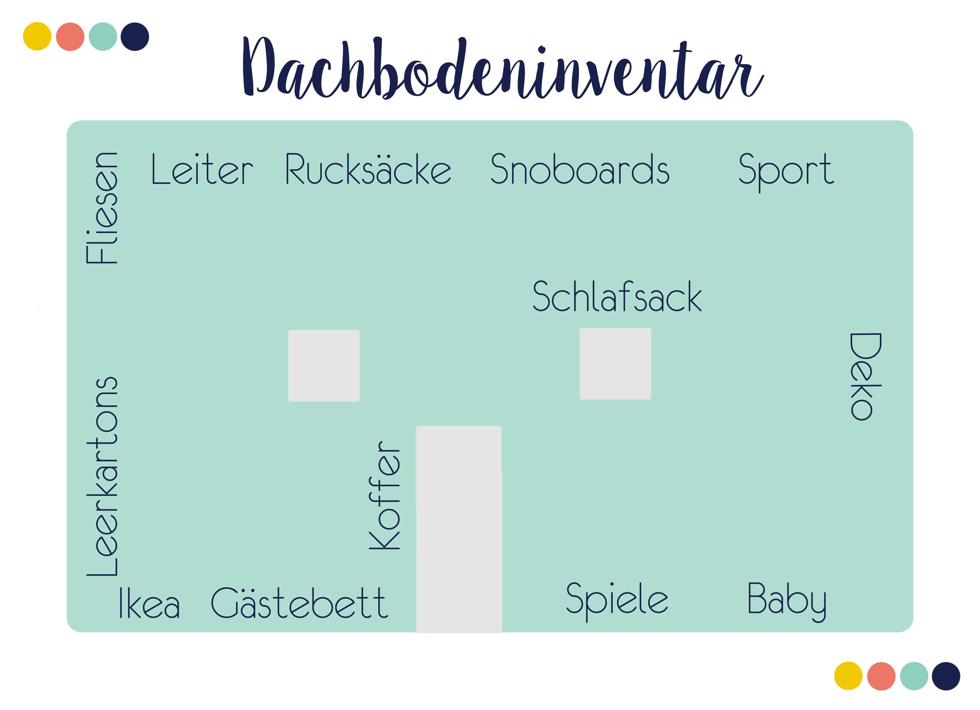 10 Tipps zum Dachboden aufräumen inkl. Printables zum kostenlosen Download | relleomein.de