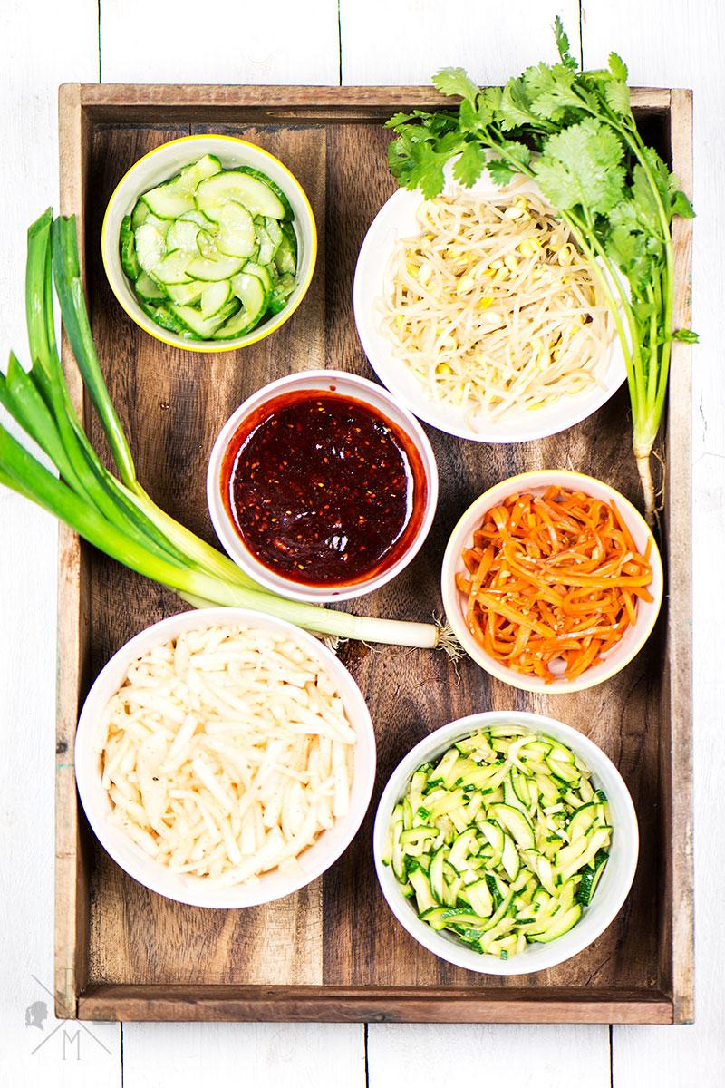 Ein typisch koreanisches Gericht - Dolsot Bibimbap | relleomein.de #veggy