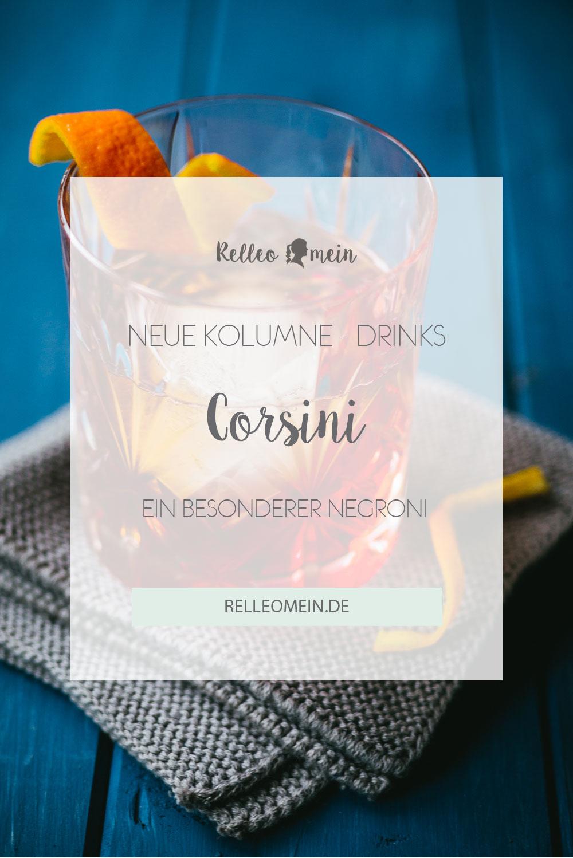Drink Rezept - Corsini ein besonderer Negroni | relleomein.de