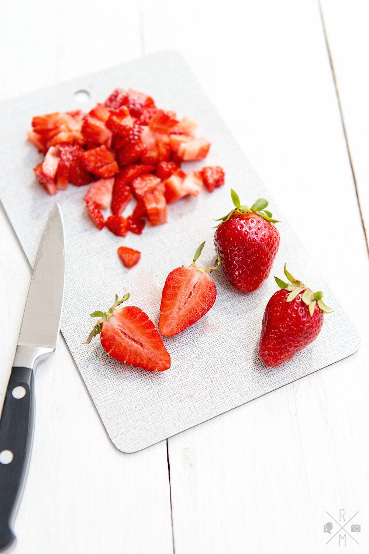 Frische Erdbeeren für Waffeln   relleomein.de