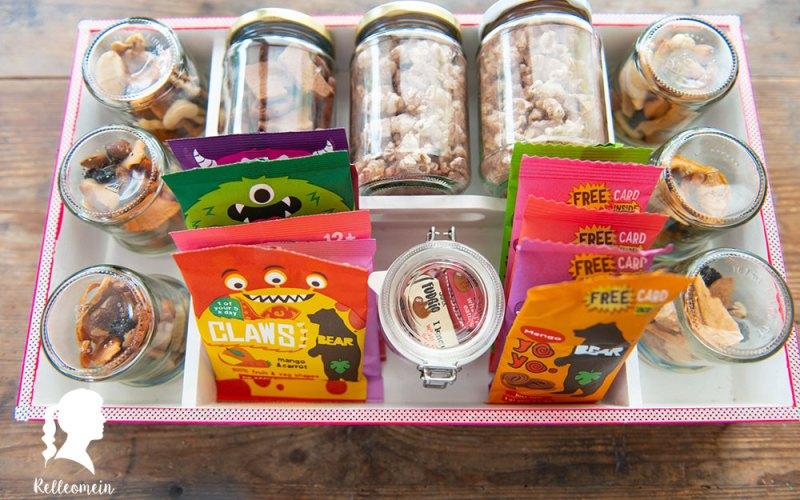 Gesunde Snacks und wie ich sie organisiere