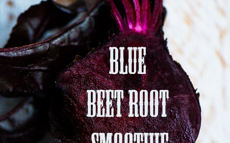 Green Smoothie - Blue Beet Root Smoothie   relleomein.de #greensmoothie #smoothie #beetroot #vegan #breakfast #drinkg #healthy #cleaneat