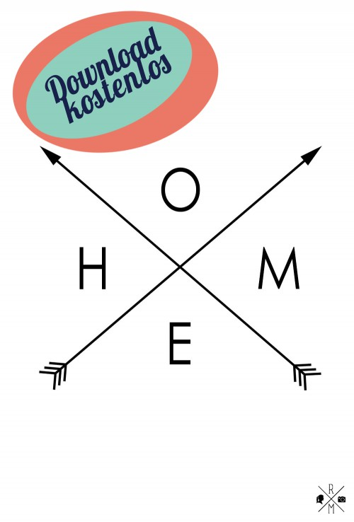"""Home"" free printable freebie kostenloser Download | relleomein.de"
