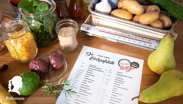 Vorbereitungen für Deutschlands größte Küchenparty (Kühlschrankaufbewahrung)
