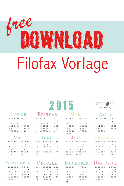 Frühjahrsputz Tag 13: Filofax - Rezepte, Ordnungsideen und DIY ...